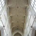 Beautiful Bath Abbey ceiling