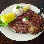 Updated steak menu, including Porterhouse specials