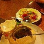 Hor Mok & Salade de Papaye