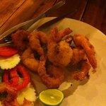 Fritters de crevettes