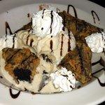 Fried brownie sundae....sin in a bowl!
