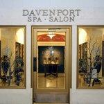 Entrance to Davenport Spa & Salon