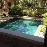 notre piscine privée