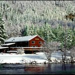 Winter on the Skykomish River in Index, WA