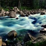Boulder Drop in Motion, Skykomish River, WA