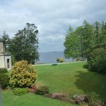 View on Lough Corrib from our room