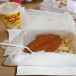 Flying Fish and chips