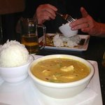 Panang Curry & Chang Beer