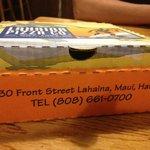 address on box