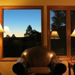 Wyndham Flagstaff 2 Bedroom Unit - Living Area Evening View #1