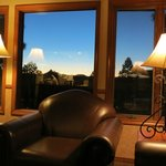 Wyndham Flagstaff 2 Bedroom Unit - Living Area Evening View #2