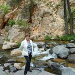It was wonderful walking along Oak Creek - easy access directly across the street from the Inn.