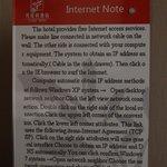 Internet instructions