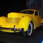 Beautiful car in yellow