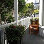 patio at Catalina Island Inn