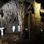 Man- made Caverock Restroom