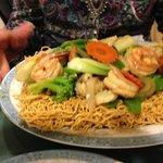 Crispy Seafood Combo - Fish, Squid, Shrimp