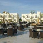 Cascades Restaurant Terrace at Le Royal Holiday Resort Sharm El Sheikh