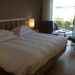 Schlafbereich mit Veranda