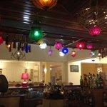 Lights above the bar