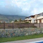 Neighbouring villas