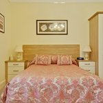 Room 2 spacious Rear facing room with a settee and a bath ensuite