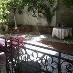 soleil au jardin du Riad lalla fatima