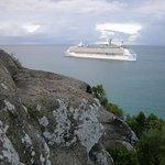 Explorer of the Seas leaving St. John's