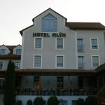 Hotel Mlýn with summer terrace