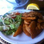 Fish and chips - Bajan style
