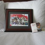 Our special Derby gift left in our room...Thank You !!