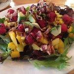 Mango, Bacon Salad