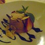 Hazelnut Ice Cream Cake
