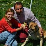 the wonderful owners at dor de bucovina