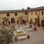 Castello di Casole, courtyard