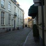 Calle entrada hotel