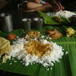 Food at saravana Bhavan