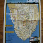 Front of trolley map