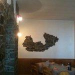 la Valtellina su una parete