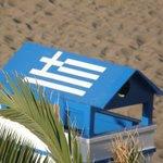 Lo spogliatoio sulla spiaggia