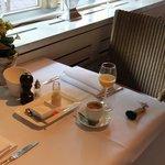 Ontbijttafel Kastanjehof