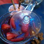 fraises chaudes glace Tagada et pain d'pices