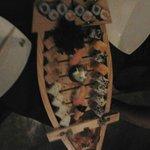 La barca si Sushi media (36 euro)