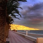 Evening Stroll, Aguadulce Beach