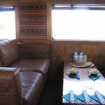 1st class car interior