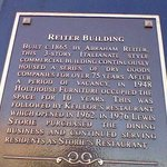 Reiter Building Historical Plaque