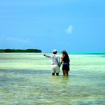 FLY FISHING IN THE LOS ROQUES FLATS