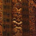 Maori figure