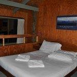 Bedroom treetops cabin