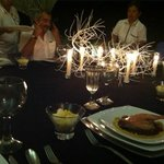 gorgeous intimate dinner
